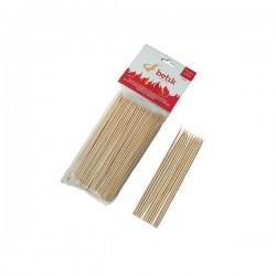 Pincho Madera Bambú 15 Cms....