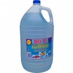Agua Desionizada 5 Lts.