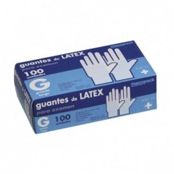 Guantes Latex Talla G Caja...