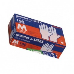 Guantes Latex Talla M Caja...