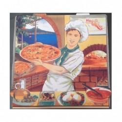 Caja Pizza Vesubio 33X33...