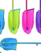 Palos para fregonas, escobas y mopas, palos extensibles, recogedores..